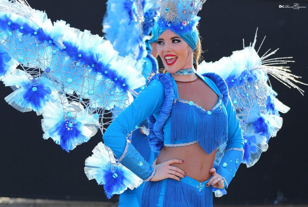"Our sidekick Carnival & quot; ENERGICA LATINA"" at the Nice Carnival  2017 !!! The CORPS ET DANSE COMPANY.."