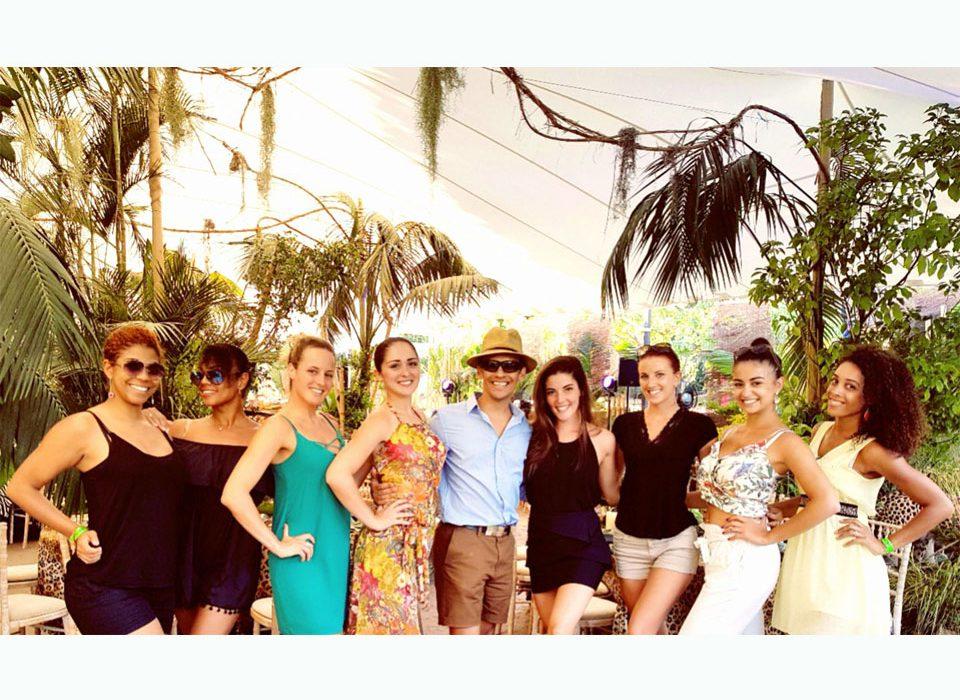 """La Compagnie CORPS ET DANSE à Saint Tropez !!! Soirée """"Jungle/ Latino"""" !!!"""